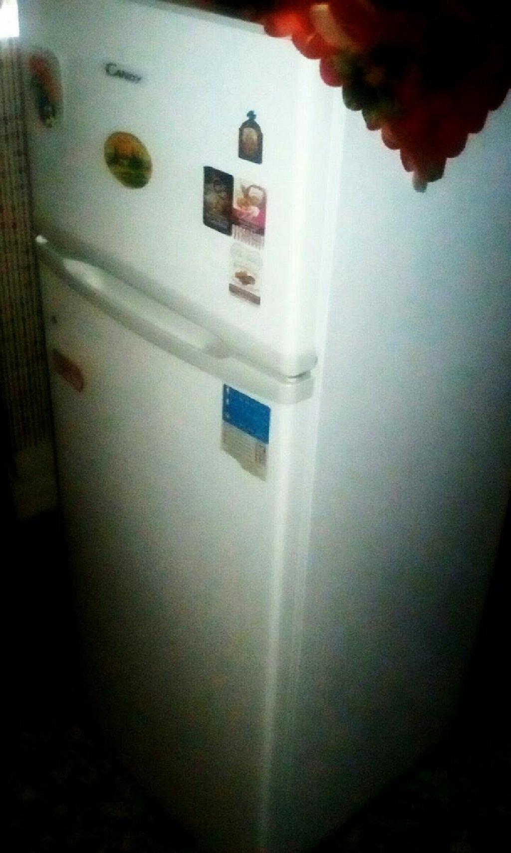 Καινούργιο Δύο θάλαμο άσπρο refrigerator Candy