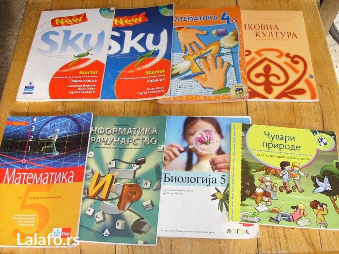 Knjige su iz osnovne skole, knjige se prodaju posebno ili u kompletu. - Gornji Milanovac