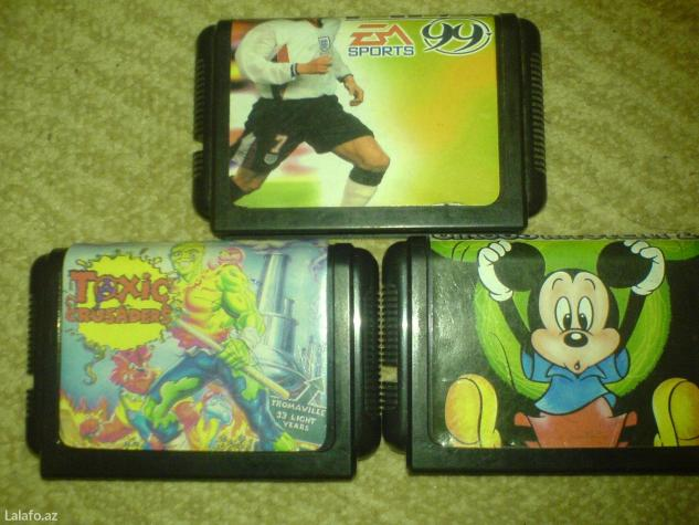 Bakı şəhərində Sega ucun kasetler satiram en maraqli ve tapilmayan oyunlardi ,taito,