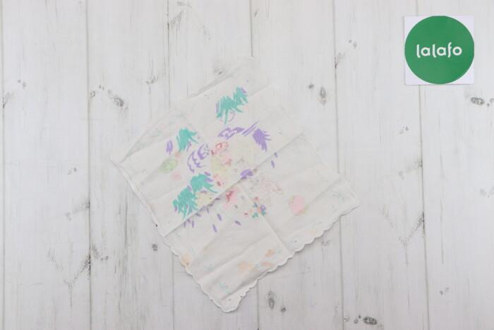 Носовичок з малюнком    Розмір: 27х24  Стан: гарний, є плямки: Носовичок з малюнком    Розмір: 27х24  Стан: гарний, є плямки