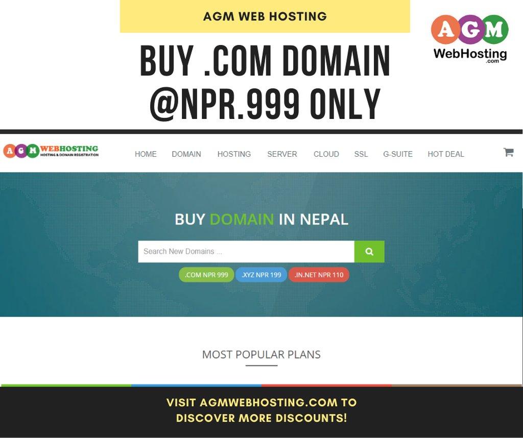 Buy a Domain Name in Nepal - Domain Registration in Nepal:
