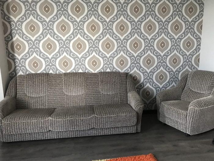 Продается диван и 2 кресла состояние идеальное в Бишкек