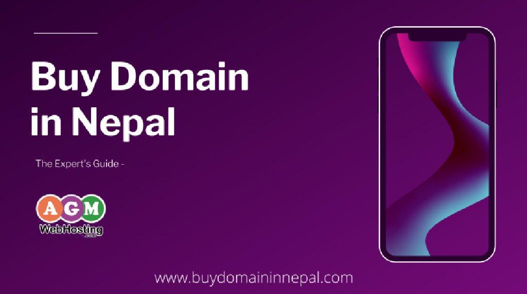 Buy Domain Name in Nepal-AGM Web Hosting: