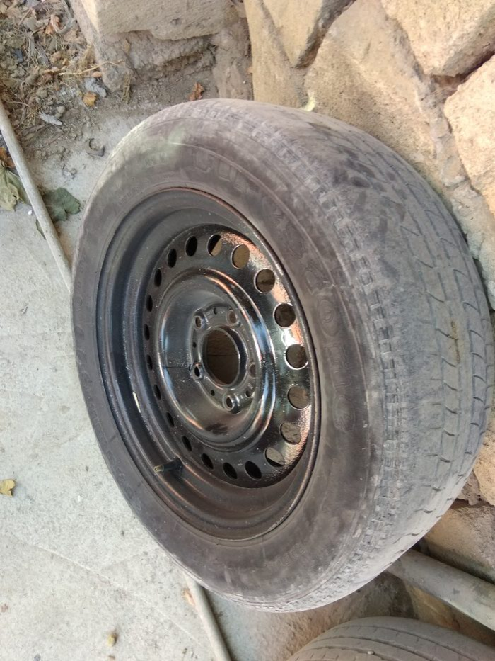 Bmw ucun sade diski teker R15. Photo 1