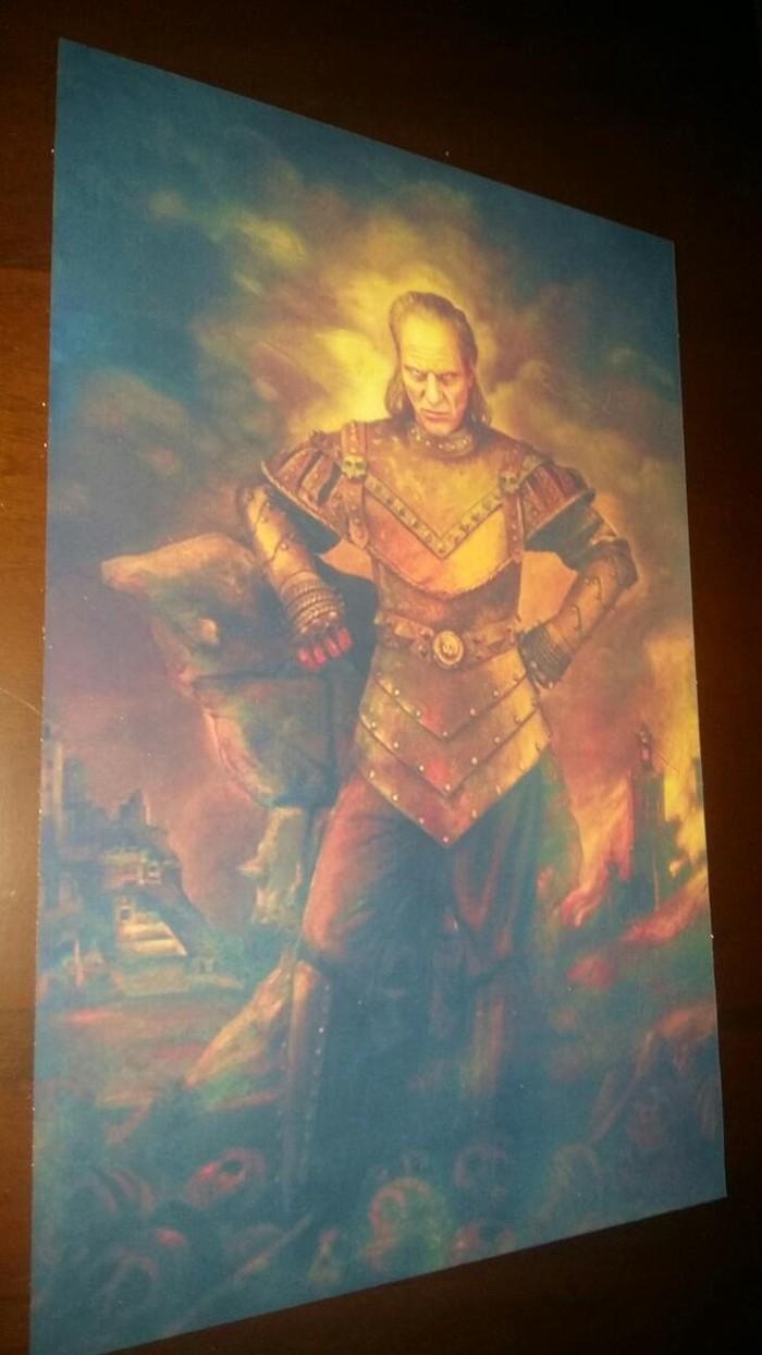 Ghostbusters υφασματιμη αφίσα 20×30 εκατοστά vigo the carpathian! !. Photo 4