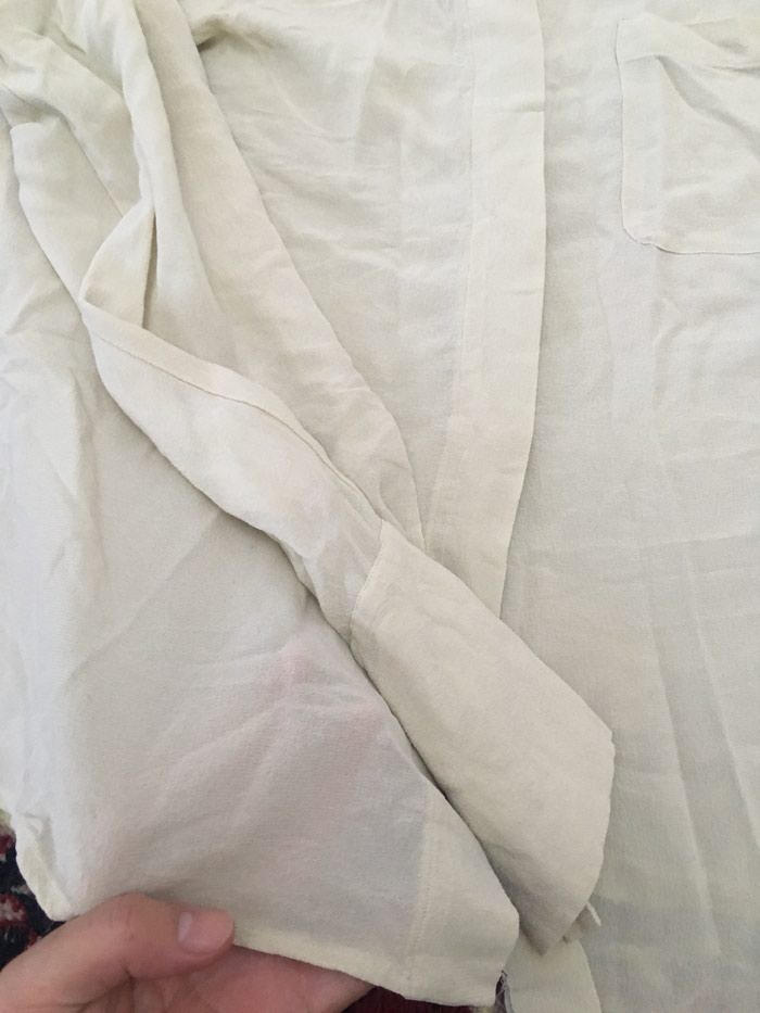 Блузка женская б/у Max Mara шифон 46-48 размер . Photo 2