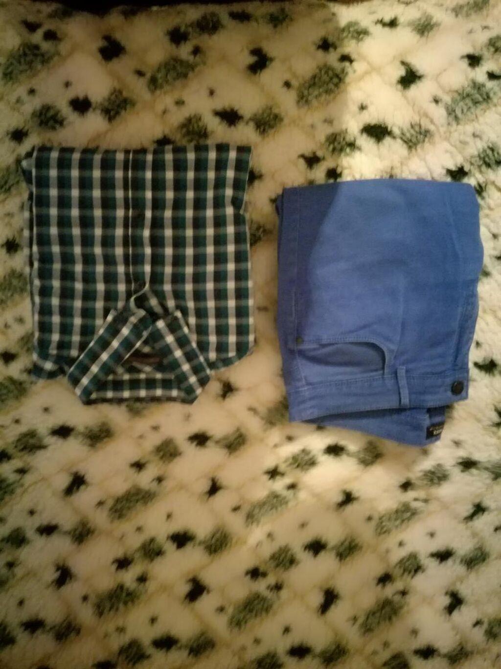 Muška košulja ( L ) + pantalone, sve za 499 din