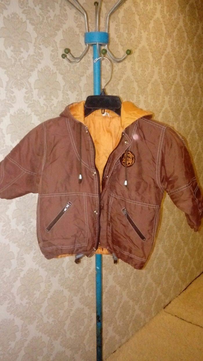 9cfff287 Детская куртка деми для мальчиков на 3-4 лет размер 104 за 300 KGS в ...