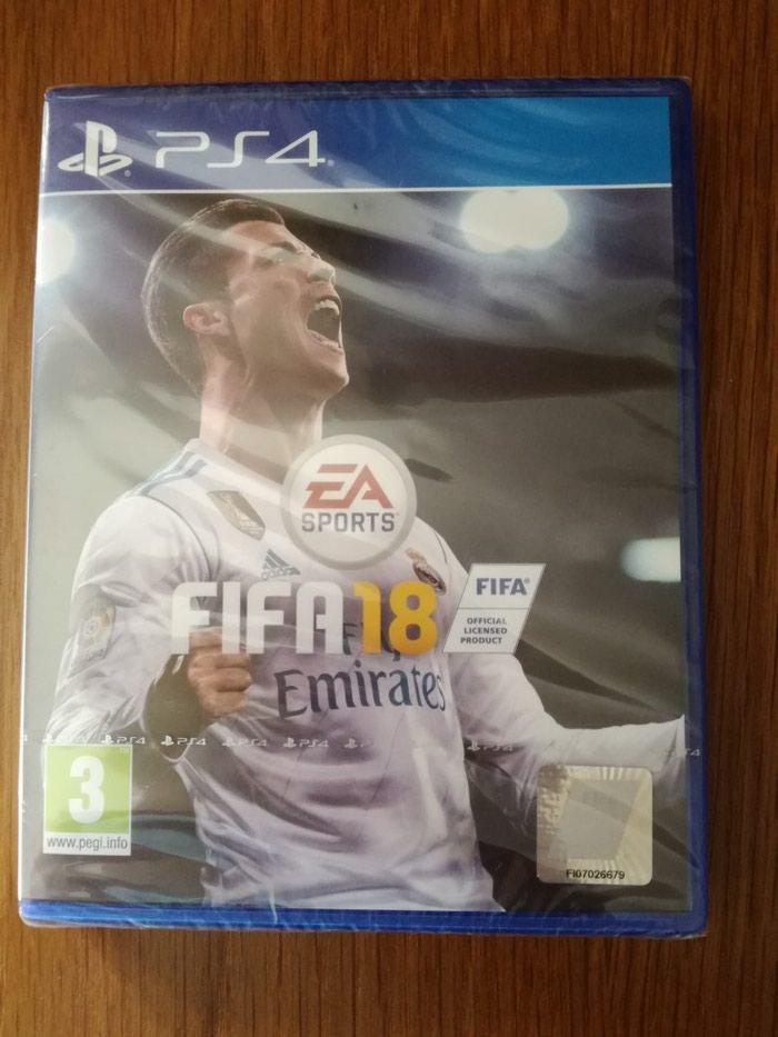 Fifa 2018 για PlayStation 4, καινούριο με τη ζελατίνα