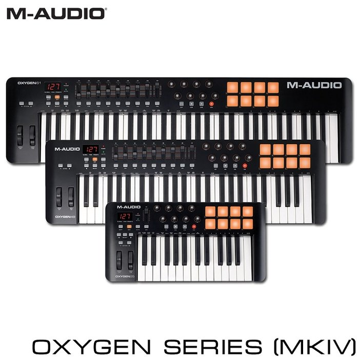 MIDI-клавиатура M-Audio Oxygen