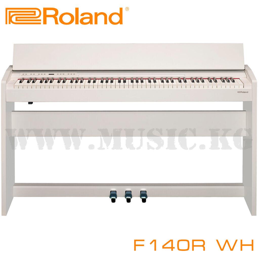 Пианино Roland F-140R - это компактный корпус, стильный внешний вид и мощные технологии ROLAND