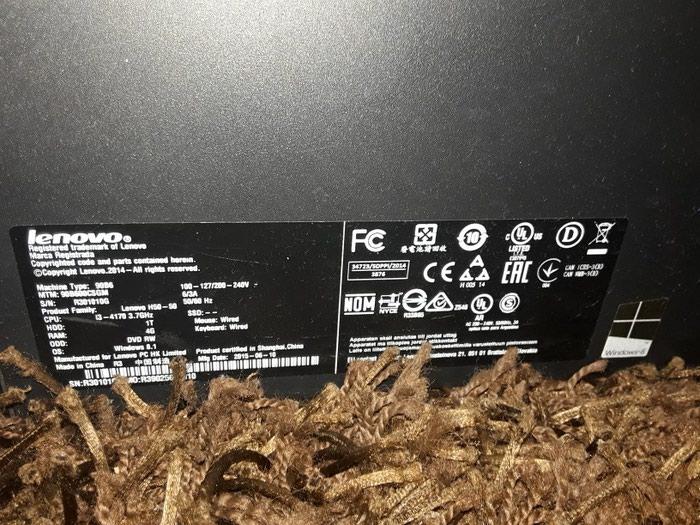 Lenovo αξίας 600€ με αυθεντικά windows 10 4 ram 1 TB Intel 3400. Photo 2