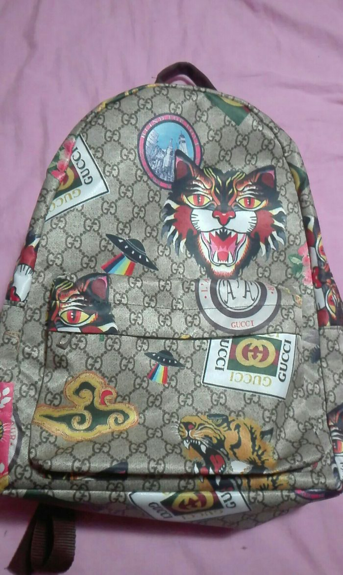 Backpack gucci replica. Photo 1