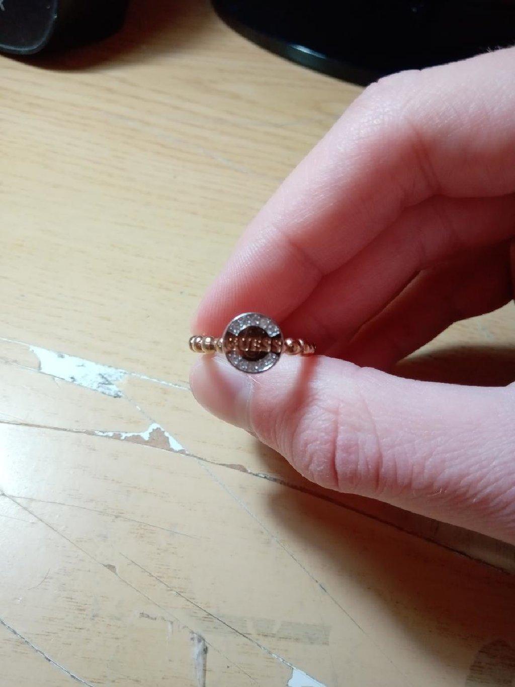 Δαχτυλίδι Guess Από Επιχρυσωμένο Ορείχαλκο
