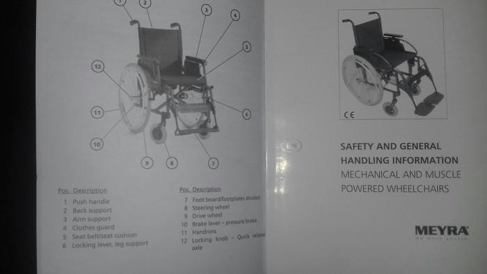 Инвалидная коляска Мейера Германия. Photo 0