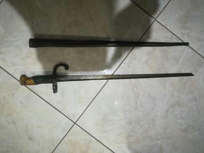 Σπαθι σαμουραι ετος 1876 αντικα. Photo 3