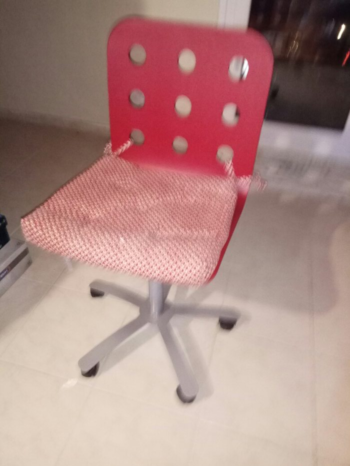 Καρέκλα γραφείου Κόκκινη. Photo 2