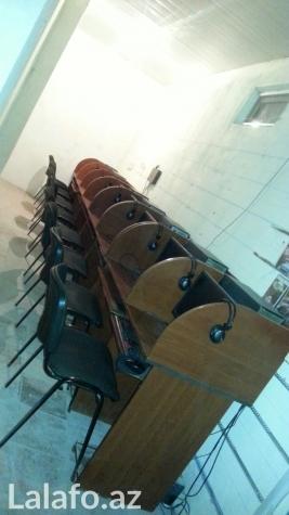 Bakı şəhərində Internet klub ucun ancaq masalar satil  8 ededi.