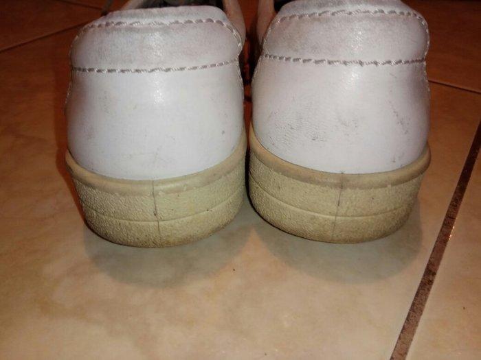 Μεταχειρισμένα άσπρα παππουτσια ECCO. Photo 1