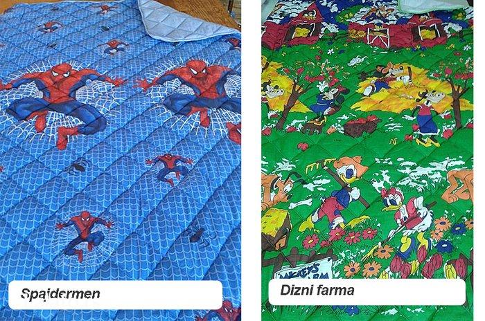 Step deke - pamuk frotir dečije štep deke sa omiljenim junacima – - Beograd