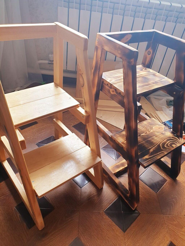 Продаю удобные детские стулья-лесенки из экологически чистого материала - дерево