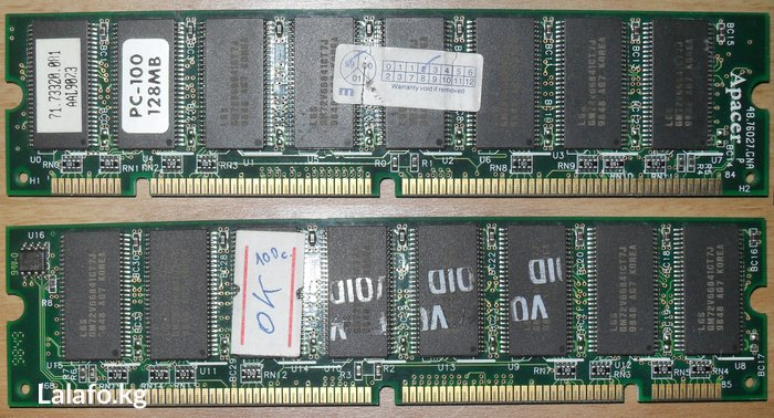 DIMM. Apacer 128mb pc-100 mhz SD-RAM.. Photo 0