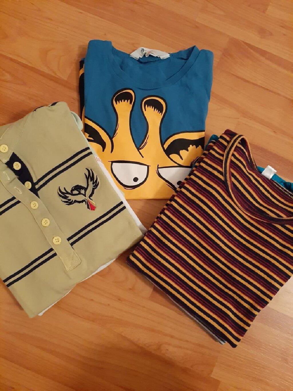 Decije majice kratki rukav. 6 komada.Za ostale informacije pitati