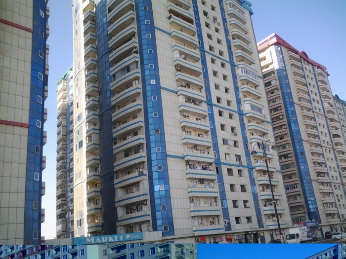 Bakı şəhərində Bina evi   satilir   razin akordun binasinda   81 kv   9 mertebe  2