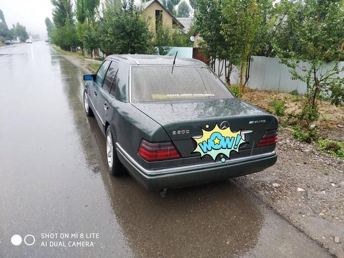Mercedes-Benz E 200 1995. Photo 1