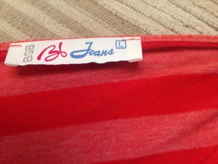 Μπλούζα bsb κοραλλί /κόκκινο,ελάχιστα φορεμένη, size l (με medium σε Αθήνα