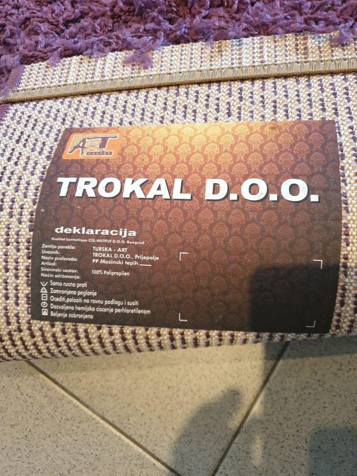 Cupavi tepih,ljubicasti,150x80cm,kao nov.. Photo 2