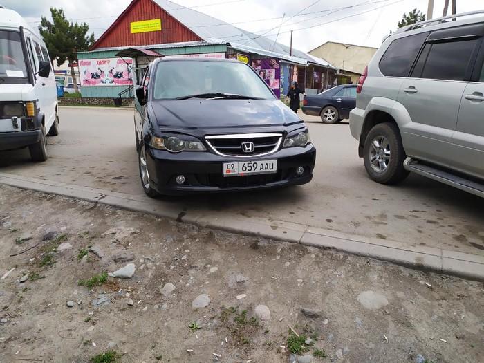 Honda Odyssey 2002. Photo 0