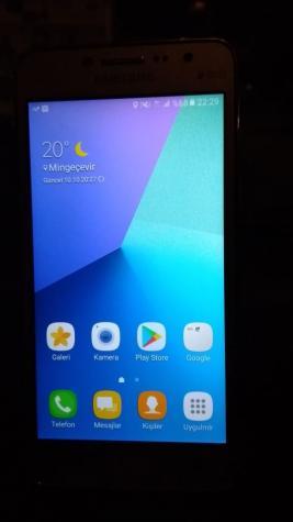 İşlənmiş Samsung Galaxy J2 Prime 8 GB qızılı. Photo 1
