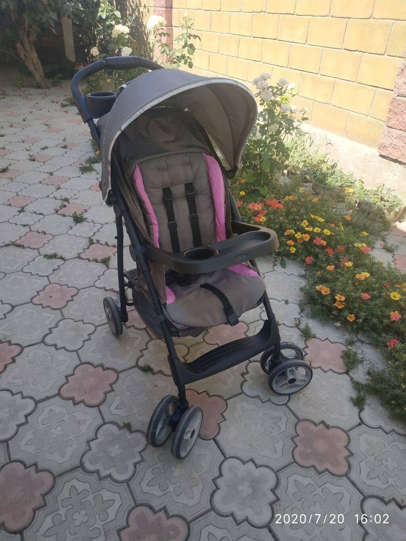 Продаю коляску летняя прогулочная, лёгкая очень очень удобная сост
