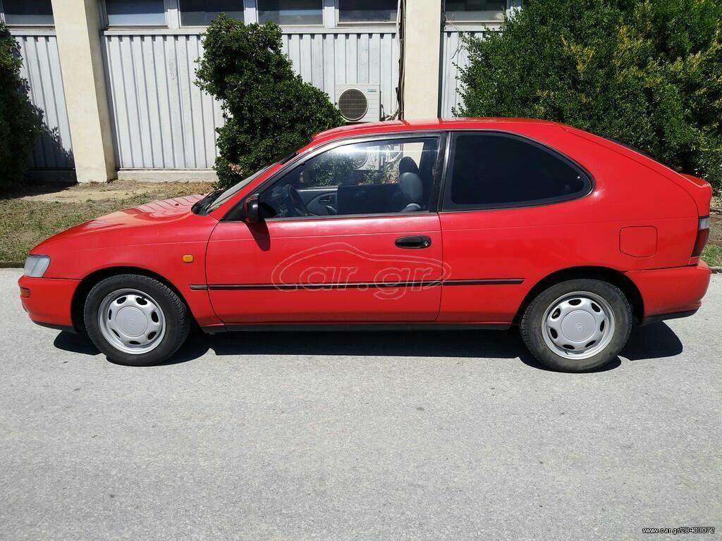 Toyota Corolla 1.4 l. 1995 | 150004 km