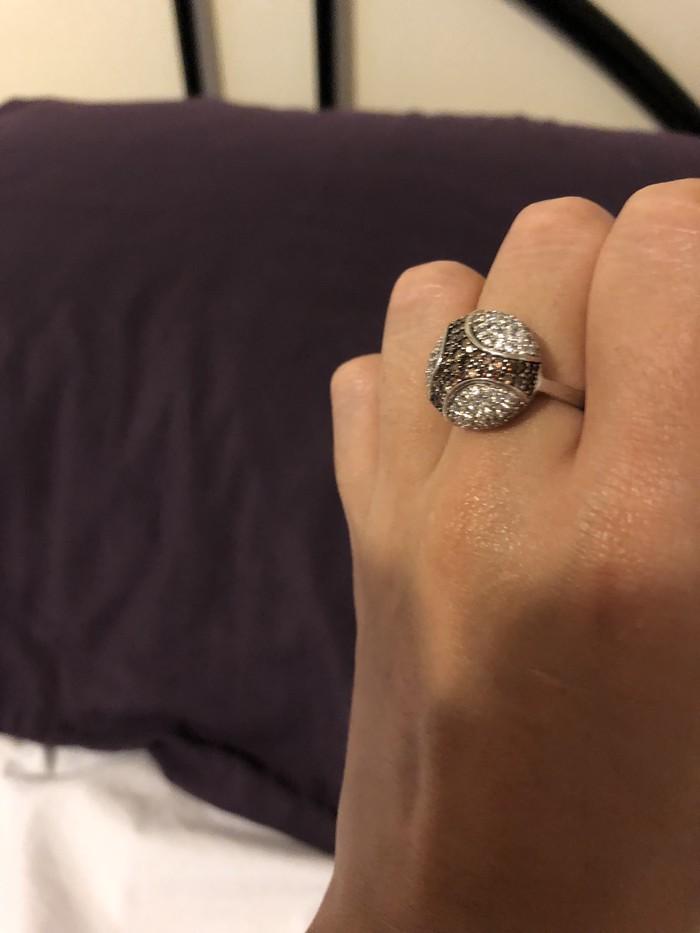 Όμορφο ασημένιο δαχτυλίδι 925 προς πώληση !!. Photo 5
