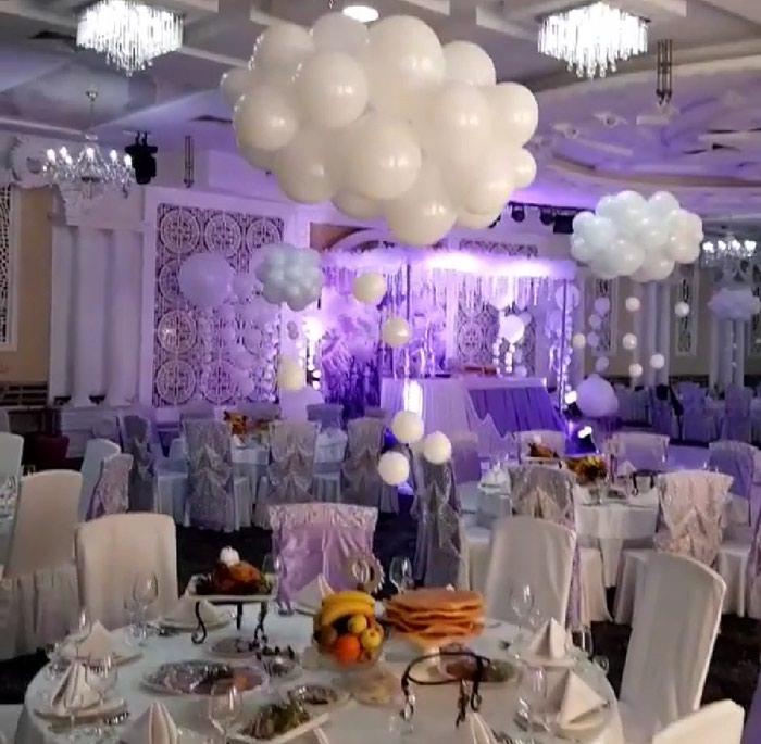 Белоснежные шары на свадьбу!. Photo 2