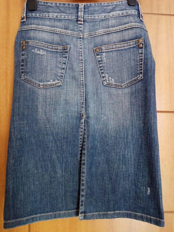 Φούστα τζιν Zara φορεμένη μόνο 2φορες. Photo 1
