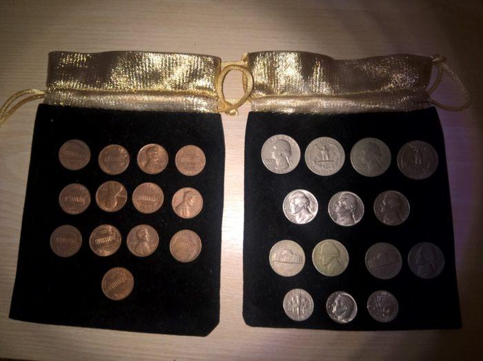 USA νομίσματα. 35 Coins USA: Quarter dollar (Liberty) σε Αθήνα