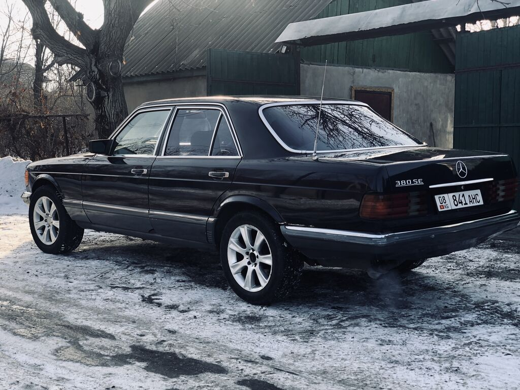 Mercedes-Benz S 350 3.5 л. 1984: Mercedes-Benz S 350 3.5 л. 1984