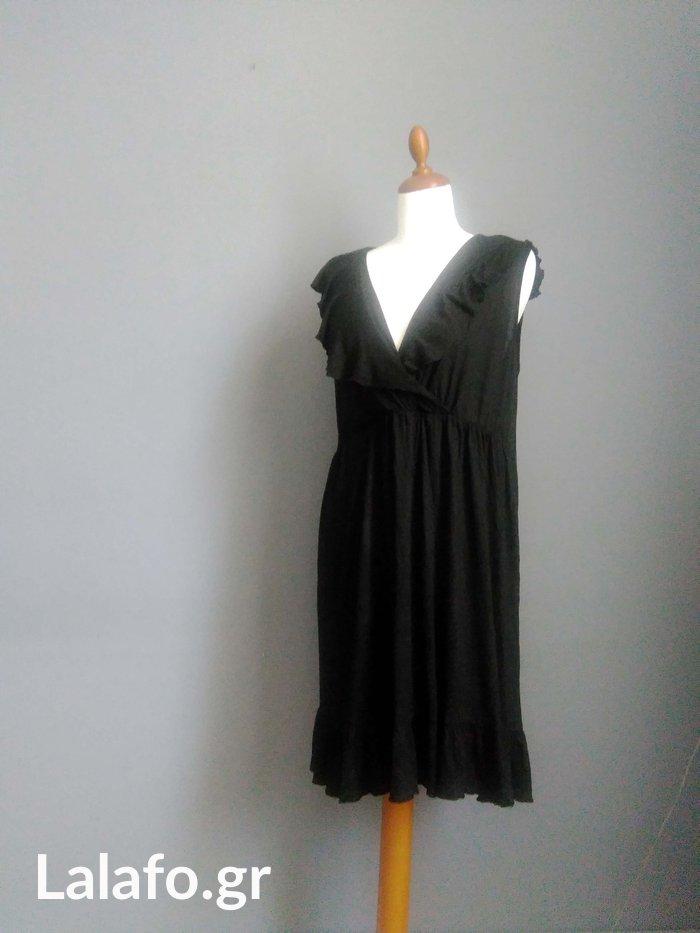 H&M Mama, μαυρο φορεμα εγκυμοσυνης