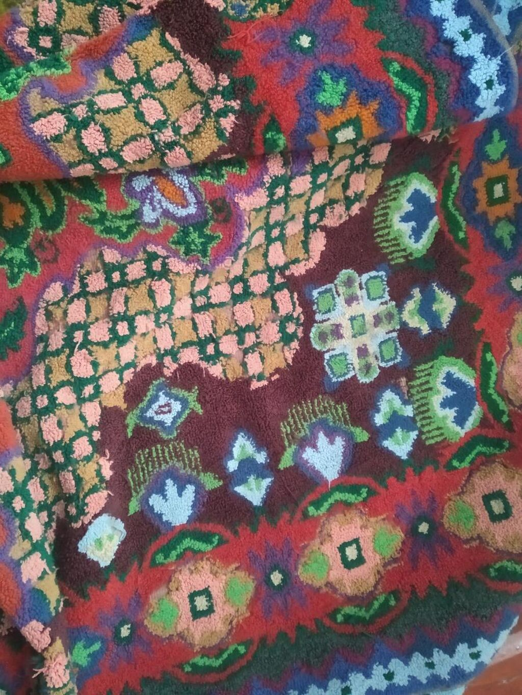 Туш кийиз 2×2 ручная вышивка( нитки)
