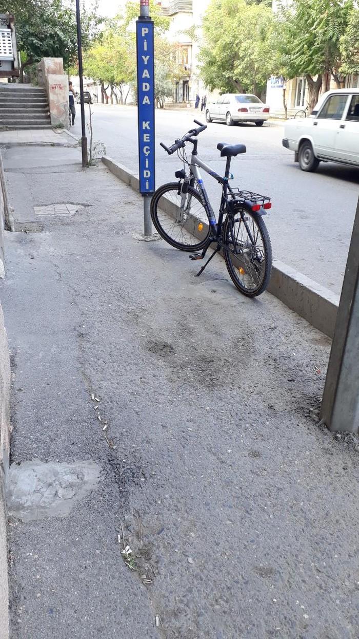 Almaniya istehsali orijinal velosiped-26liq(M). Photo 3