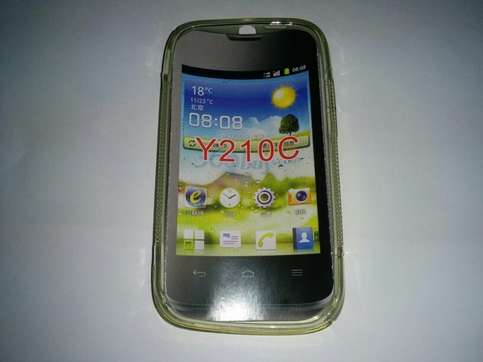 Huawei Ascend Y210C silicon case καινούργια!. Photo 0