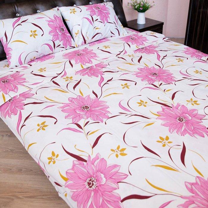 Гиппоаллергенный постельный комплект из 100% хлопчатобумажной российской ткани