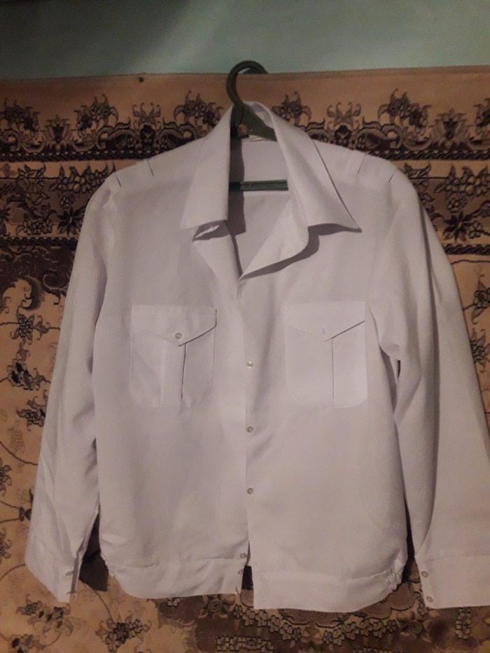 c651110455a0cac Белая рубашка милицейская , военная за 400 KGS в Бишкеке: Мужские ...
