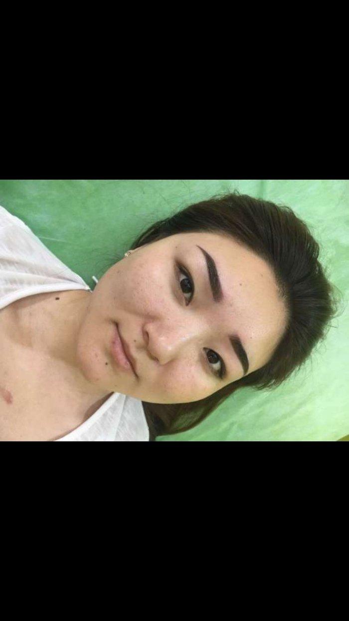 Татуаж бровей , теневая растушевка микроблейдинг стрелки глаз растущев в Бишкек