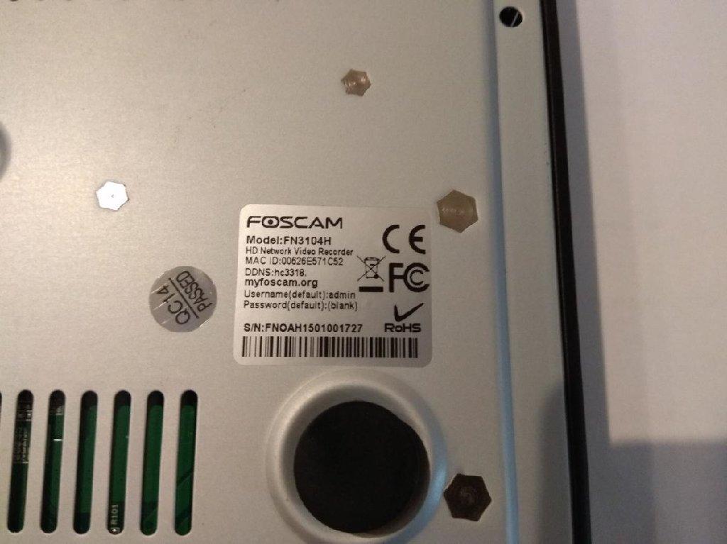Καταγραφικό τεσσάρων καναλιών NVR Foscam