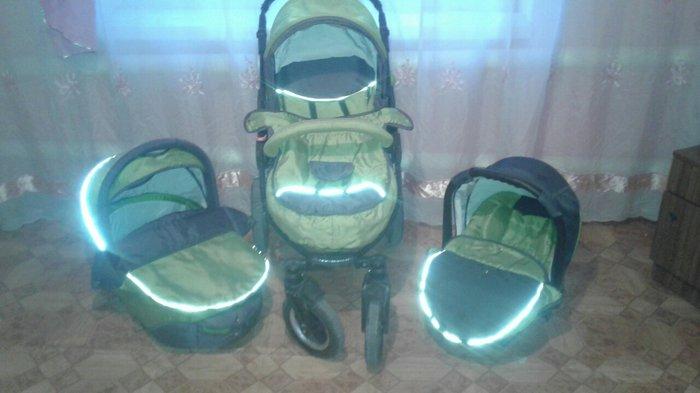 Продаю коляску happych aviator 3в1- удобная, многофункциональная, унив в Кара-Балта