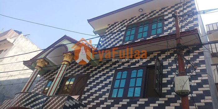 a beautiful and strong semi bungalow house having land area 0-4-0-0 in Kathmandu